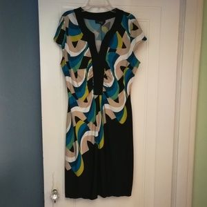 Alfani multicolored dress